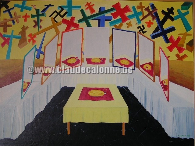 multiplication, table, croix, miroirs, religions, sectes,